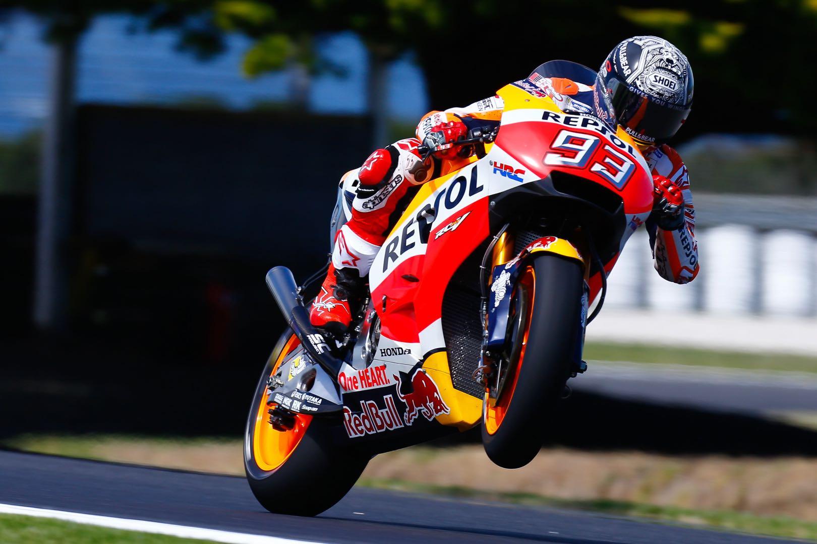 Marc Marquez Renews Repsol Honda MotoGP Contract Through 2020