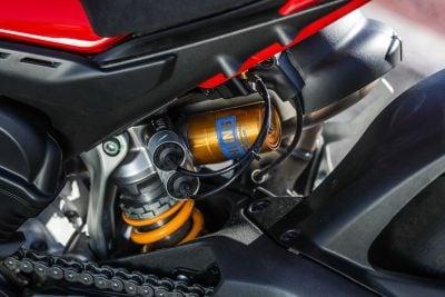 Ducati Panigale V4 Ohlins suspension