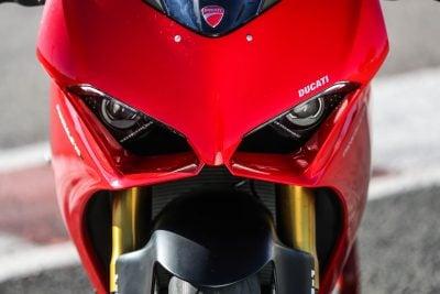 Ducati Panigale V4 headlights