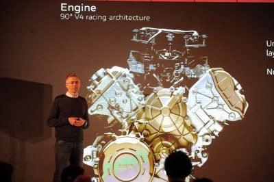 Ducati Panigale V4 Stradale Engine
