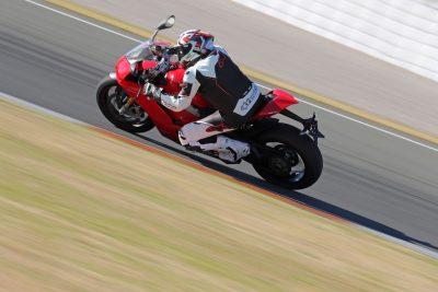 Ducati Panigale V4 test
