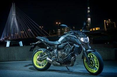 2018 Yamaha MT-07 top speed