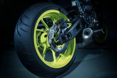 2018 Yamaha MT-07 tires