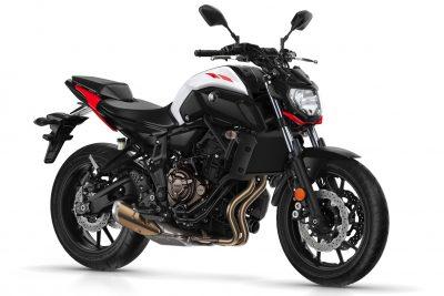 2018 Yamaha MT-07 specs