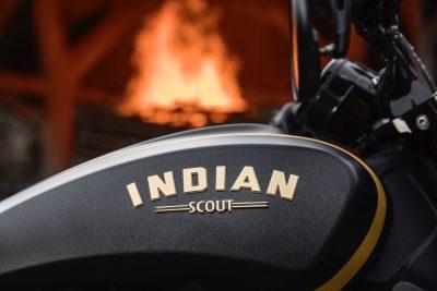 Jack Daniel's Limited Edition Indian Scout Bobber 24K Gold