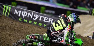 2018 Supercross Mid-Season Report Kawasaki Rider Eli Tomac