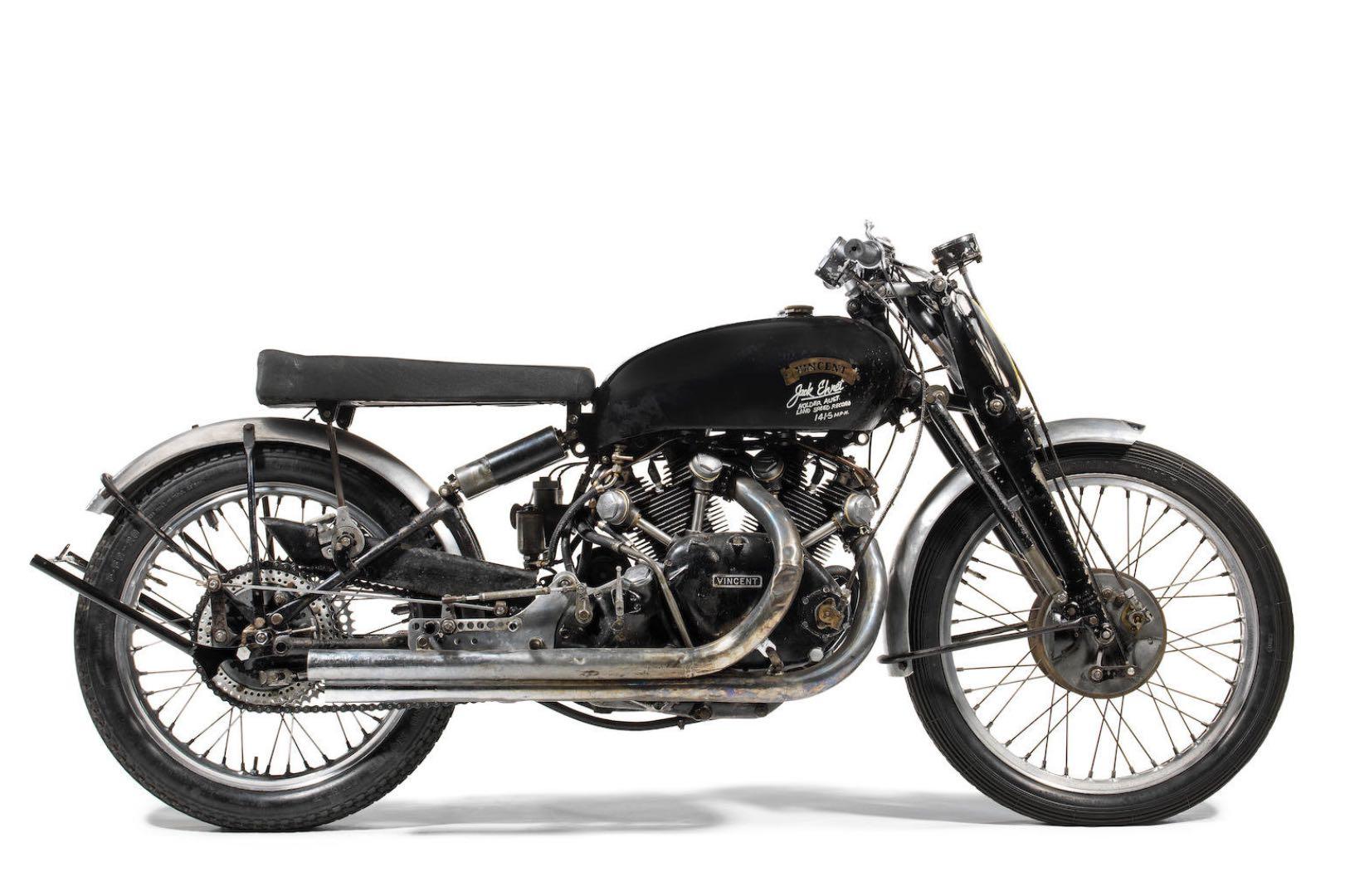 vincent lightning motorcycles most 1951 expensive motorcycle valuable custom sportster tops davidson d1 harley 1200