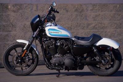 2018 Harley-Davidson Iron 1200 seat height