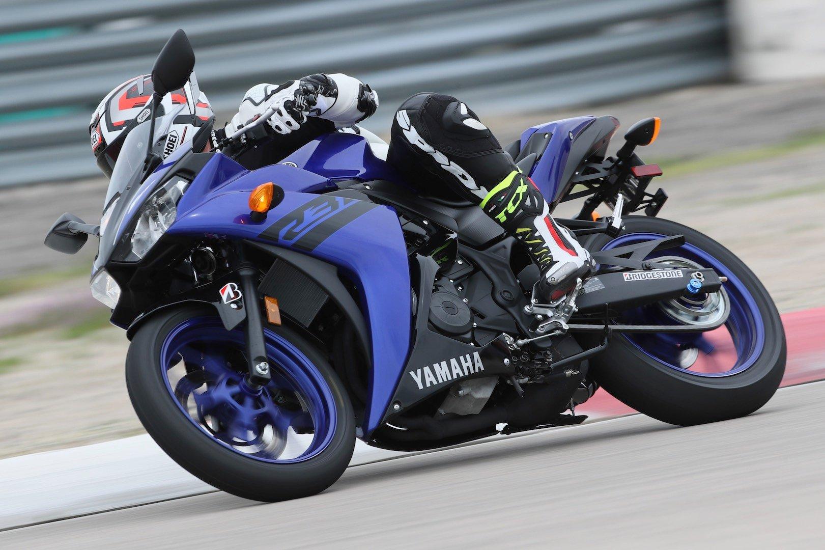 2018 Yamaha Sportbike Lineup Review R3 R6 R1 R1m