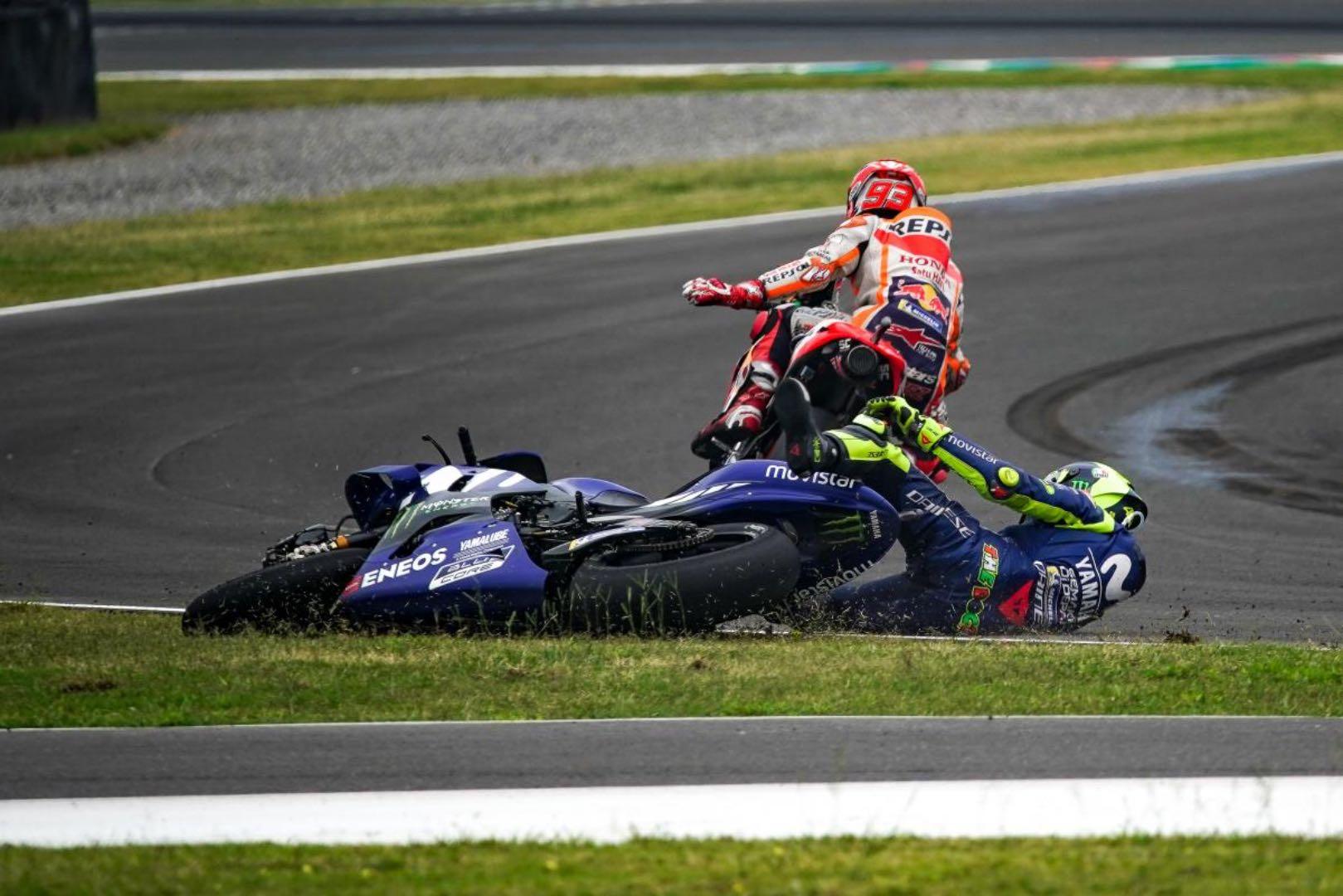 2018 Argentina MotoGP Results Rossi and Marquez Crash