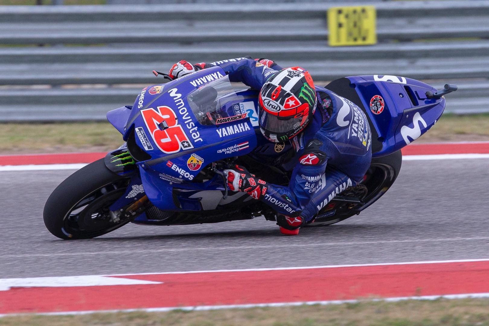 2018 Austin MotoGP Qualifying: Yamaha's Maverick Vinales