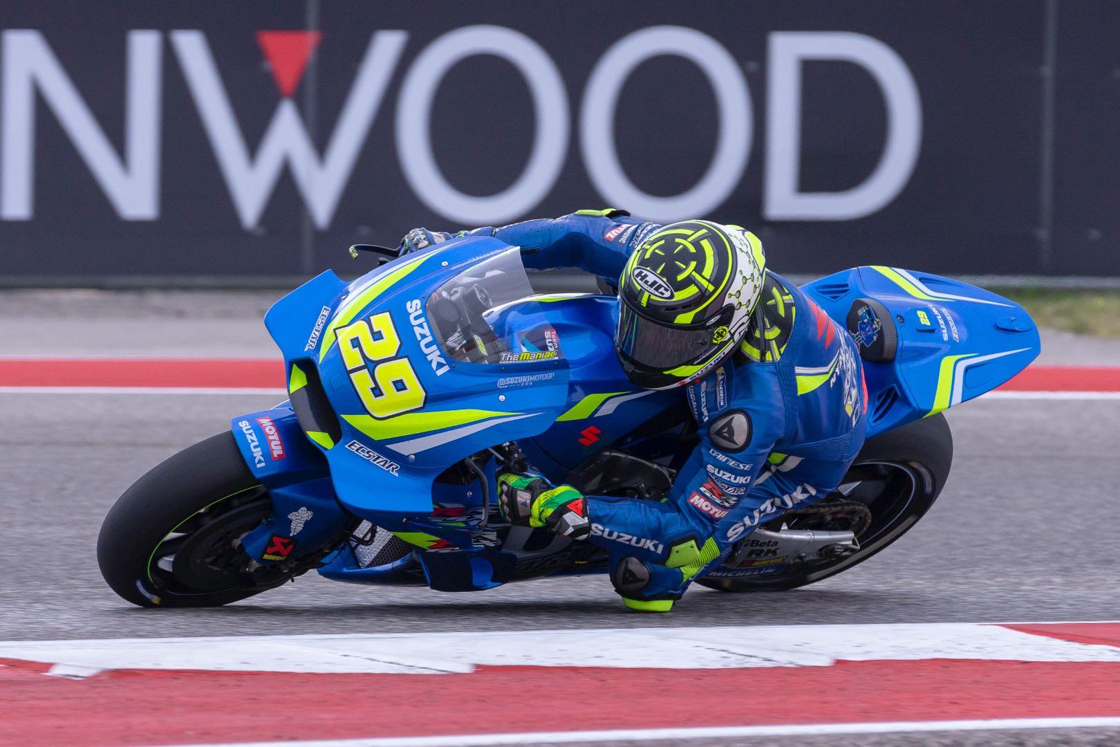2018 Austin MotoGP Qualifying: Suzuki's Andrea Iannone