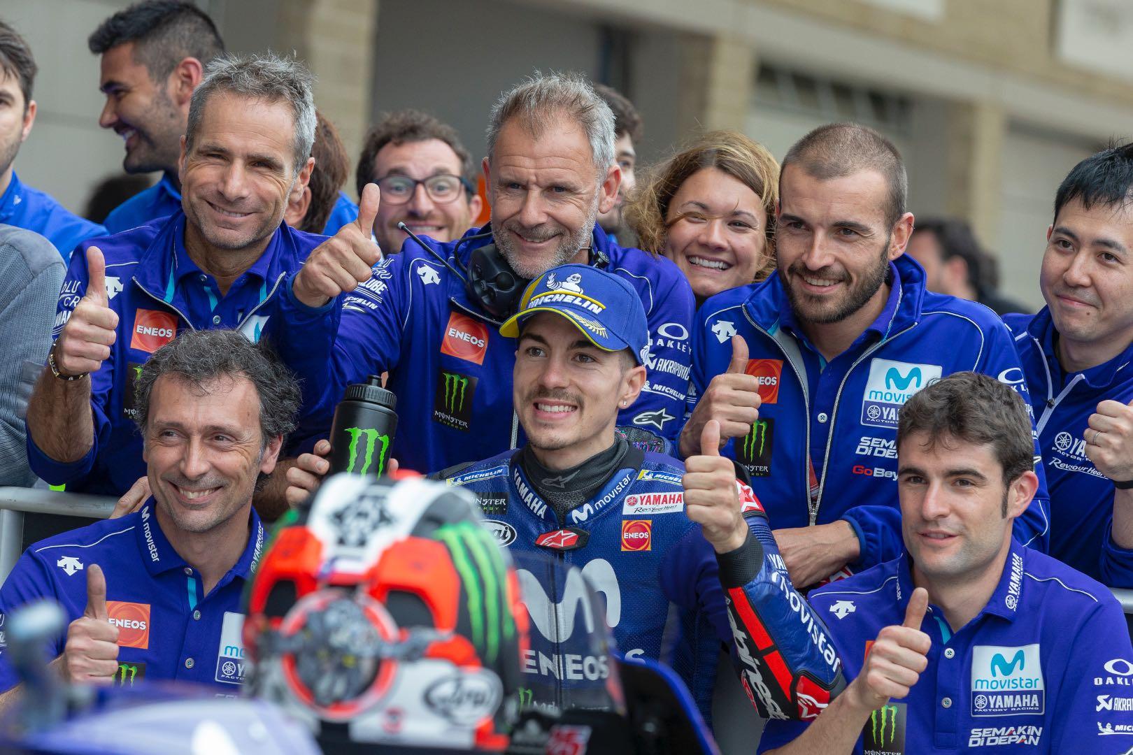 2018 Austin MotoGP Qualifying: Vinales
