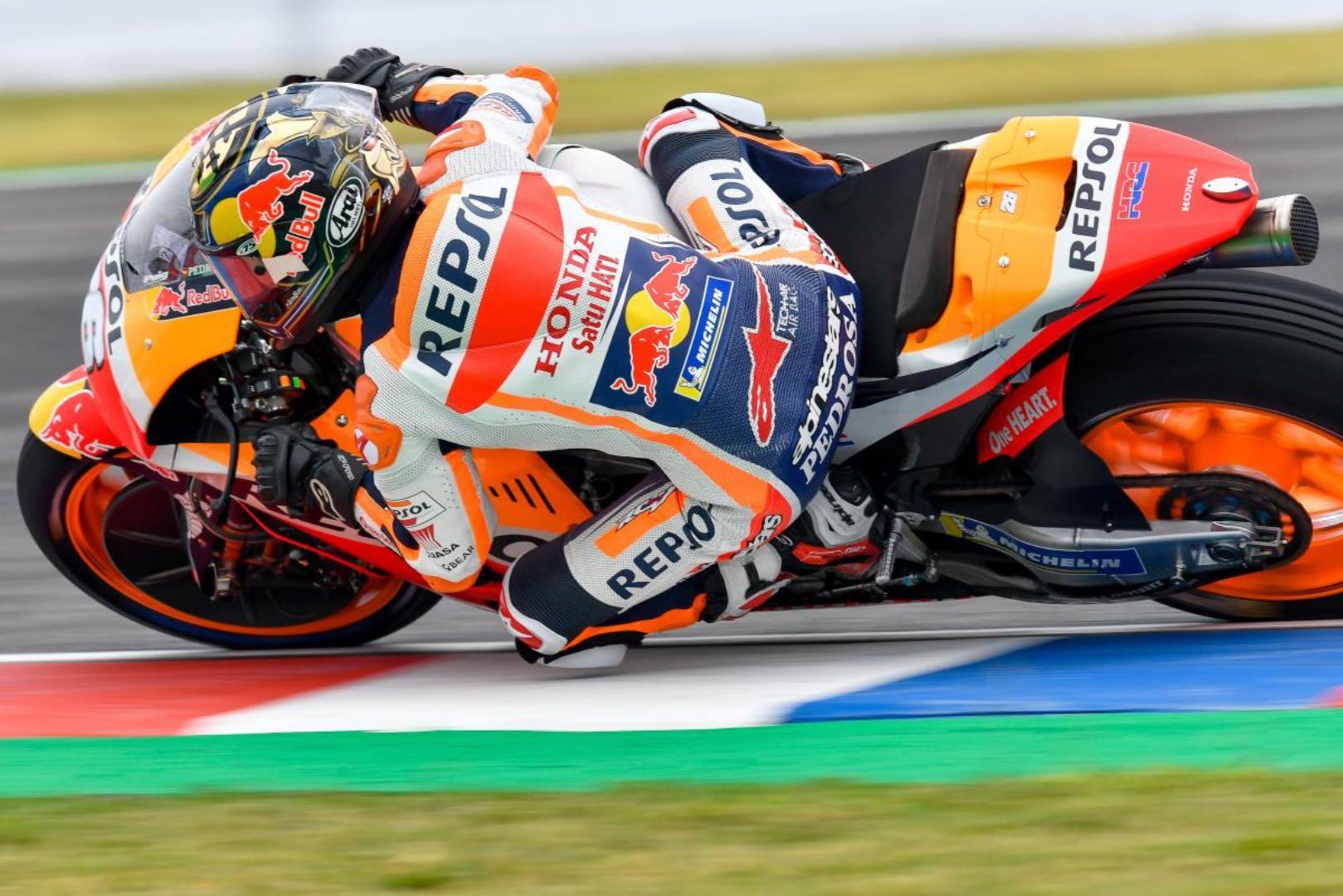 Pedorsa Undergoes Wrist Surgery Following Argentina MotoGP Crash