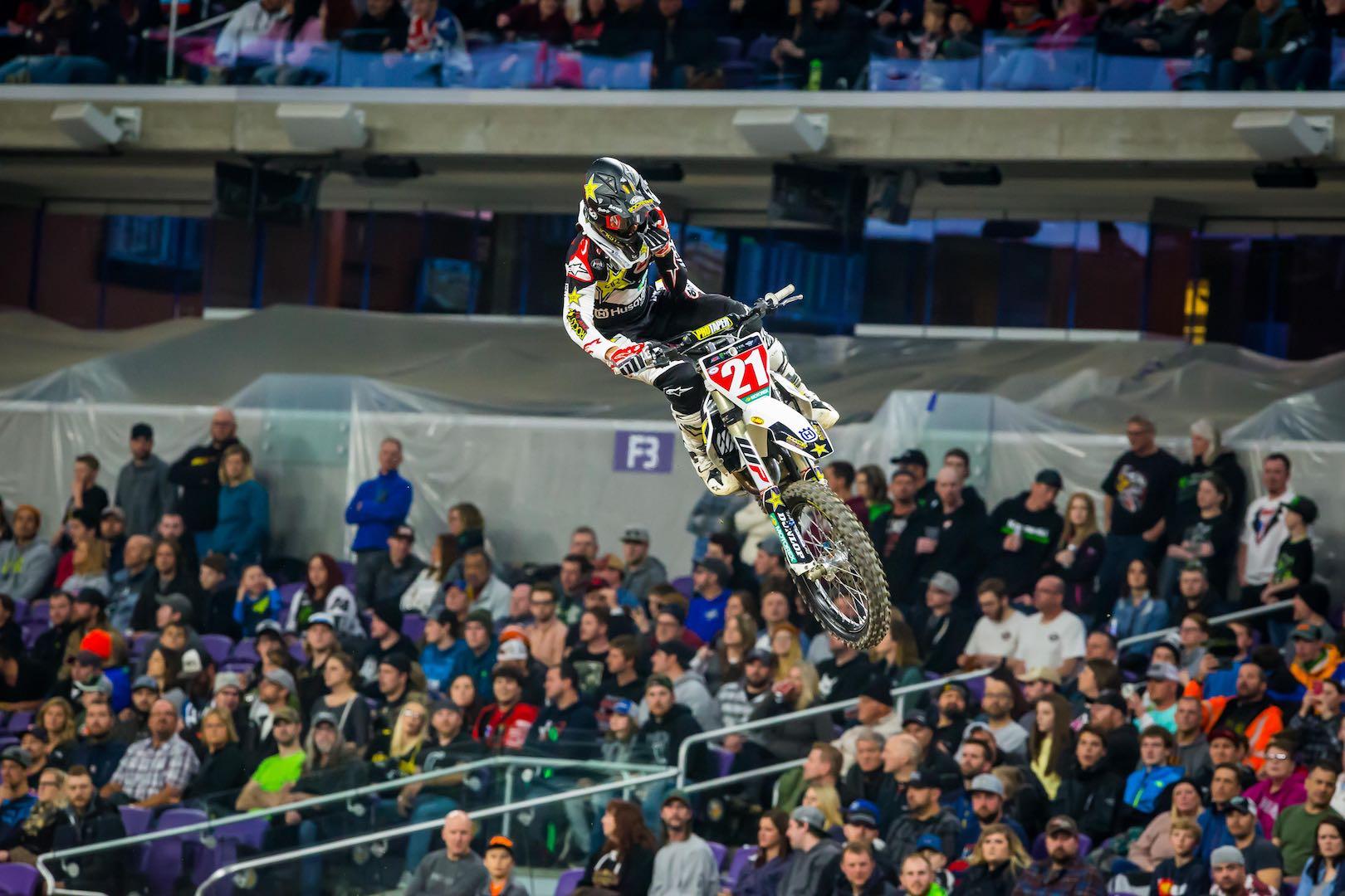 2018 Salt Lake City Supercross Preview  Husky Jason Anderson