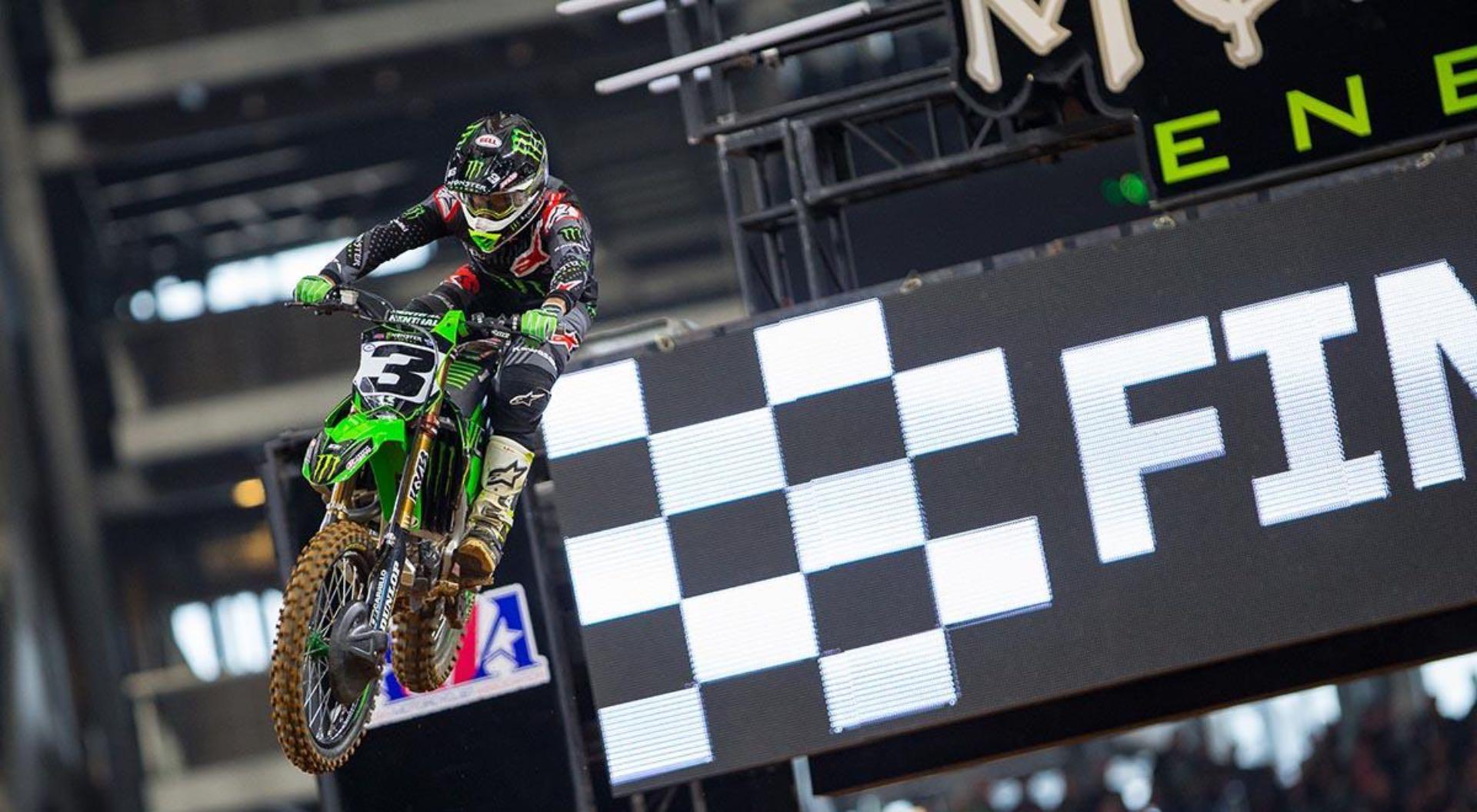 2018 Salt Lake City Supercross Preview Kawasaki Eli Tomac