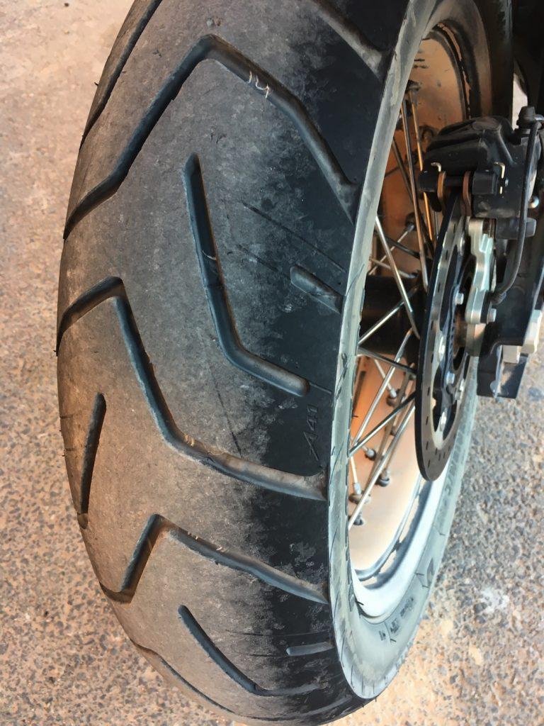 Bridgestone Battlax Adventure A41 test
