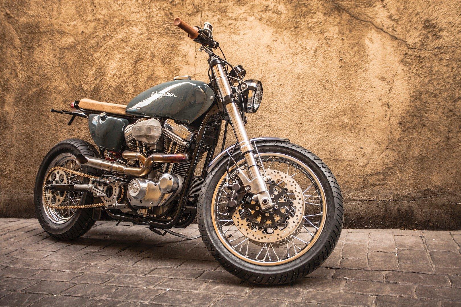 XTR Pepo 1992 Harley-Davidson Sportster XLH883 Custom Motorcycle