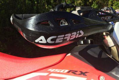 2018 Honda CRF450RX Project Bike handguards