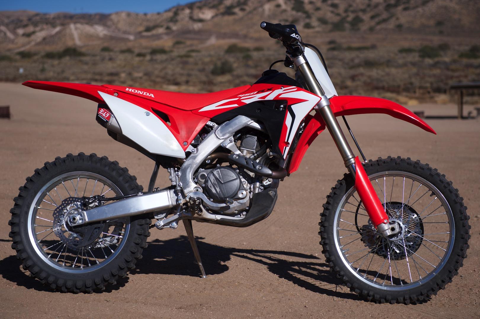 2018 Honda CRF450RX Project Bike test