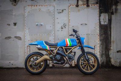 Ducati Maverick Scrambler by GRIME auction