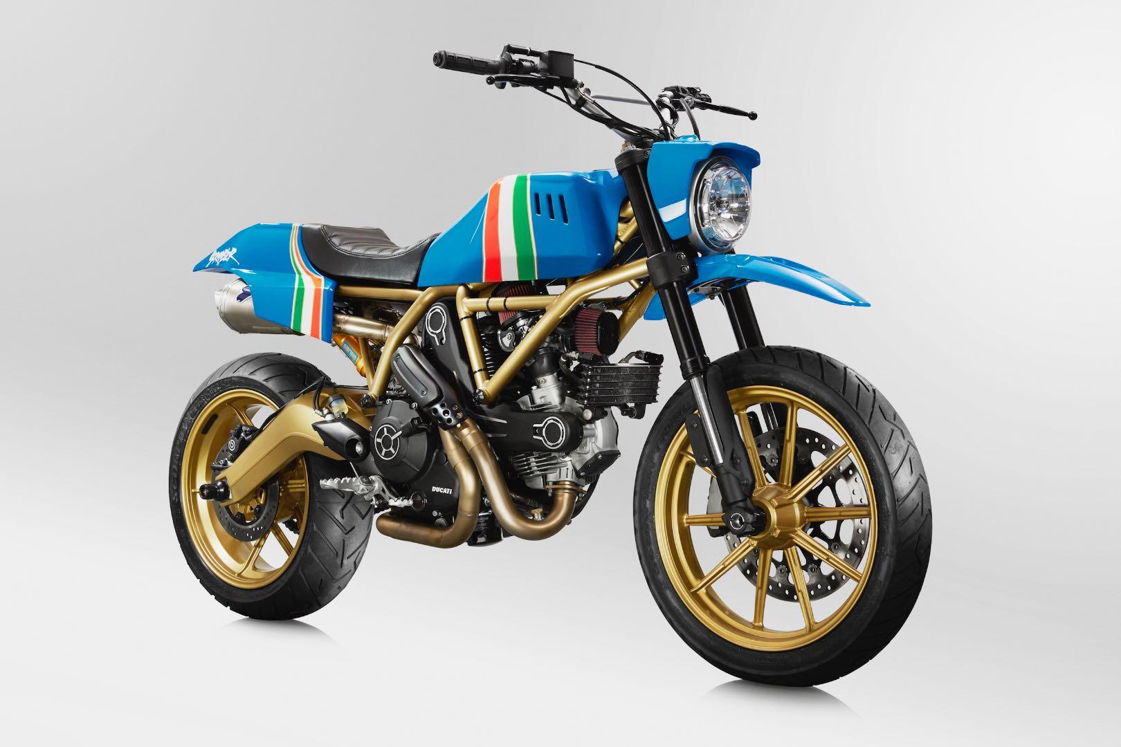 Ducati Maverick Scrambler by GRIME for sale