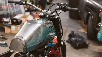 Ducati Maverick Scrambler by GRIME 250 hours
