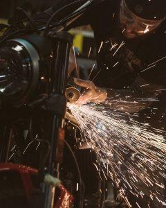 Ducati Maverick Scrambler by GRIME work