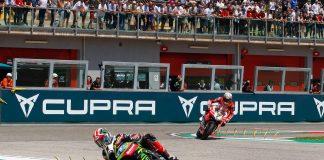 2018 Imola World Superbike Results Rea and Davies