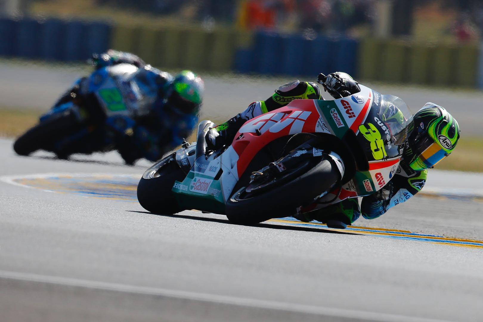 2018 Le Mans MotoGP Results Cal Crutchlow Honda