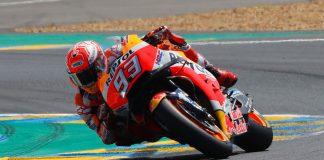 Honda Marc Marquez at Le Mans MotoGP