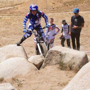 2018 Beta Trials Day At MotoVentures trials Riding