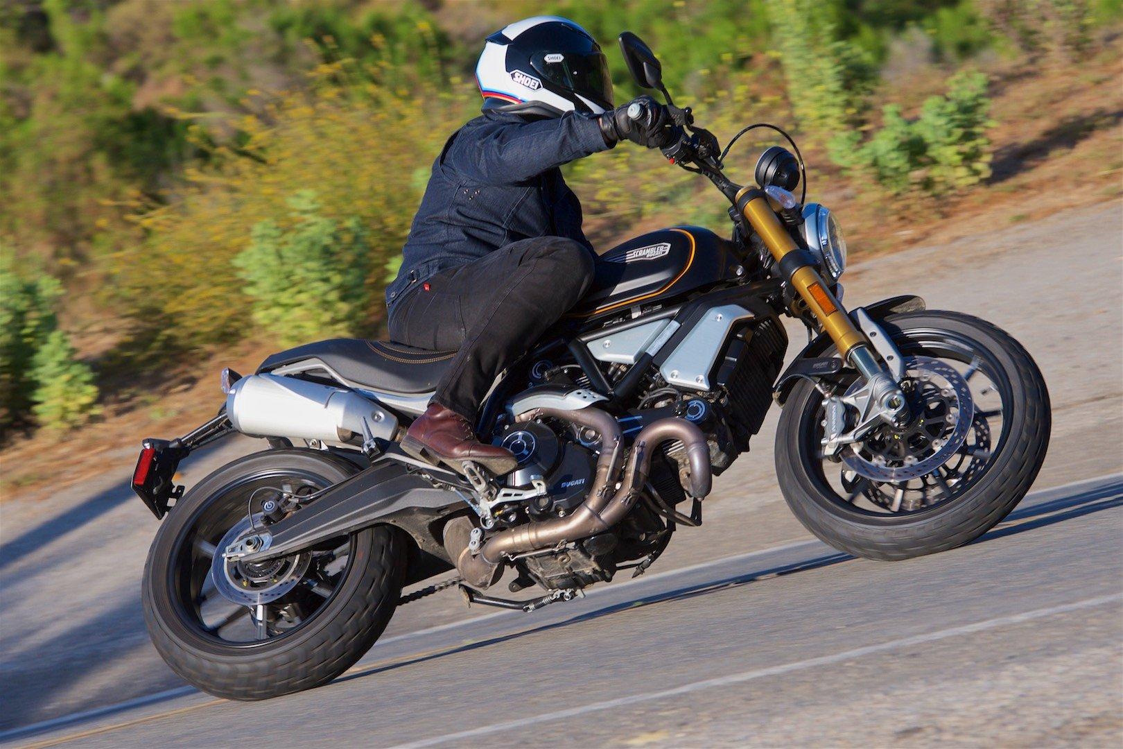 2018 Ducati Scrambler 1100 Sport Test Go Big