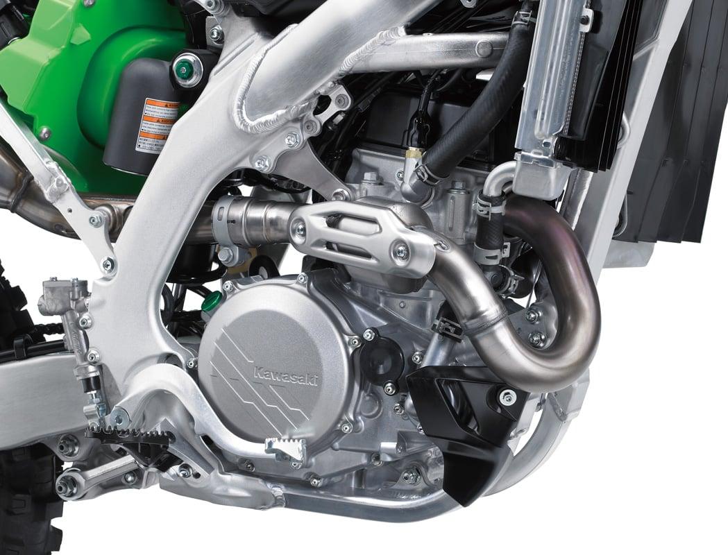 2019 Kawasaki KX450F engine