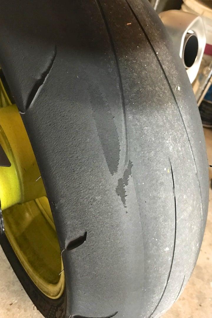 190//55ZR17 Dunlop Sportmax Q3 Rear Tire
