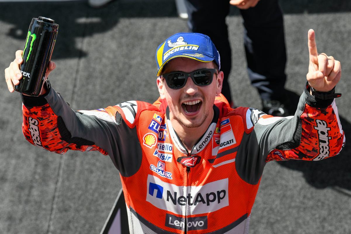 It S Official Jorge Lorenzo To Repsol Honda Team In 2019 Motogp Season