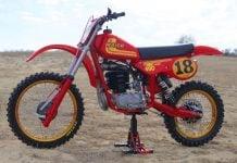 1981 Maico 490 Mega 2 - left side profile