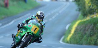 John McGuinness Paton during Classic TT
