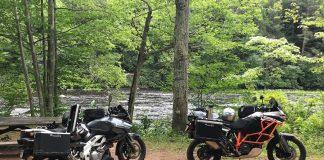 Liebacks Lounge v-strom dl1000 and ktm 1190 adventure r