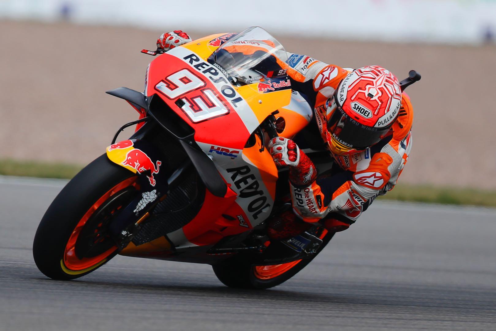 2018 Sachsenring MotoGP Qualifying: Honda Marc Marquez