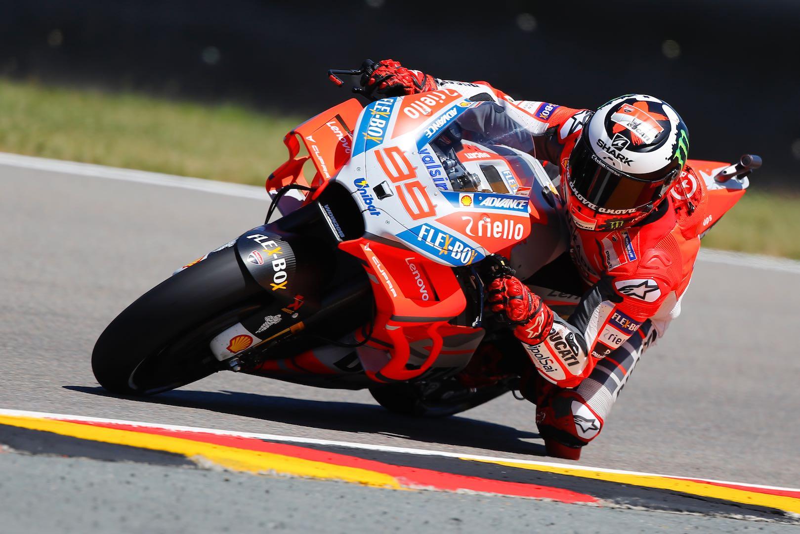 2018 Sachsenring MotoGP Qualifying: Ducati's Jorge Lorenzo