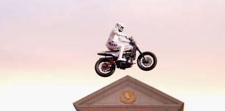 Travis Pastrana Recreates Evel Knievel Jump success