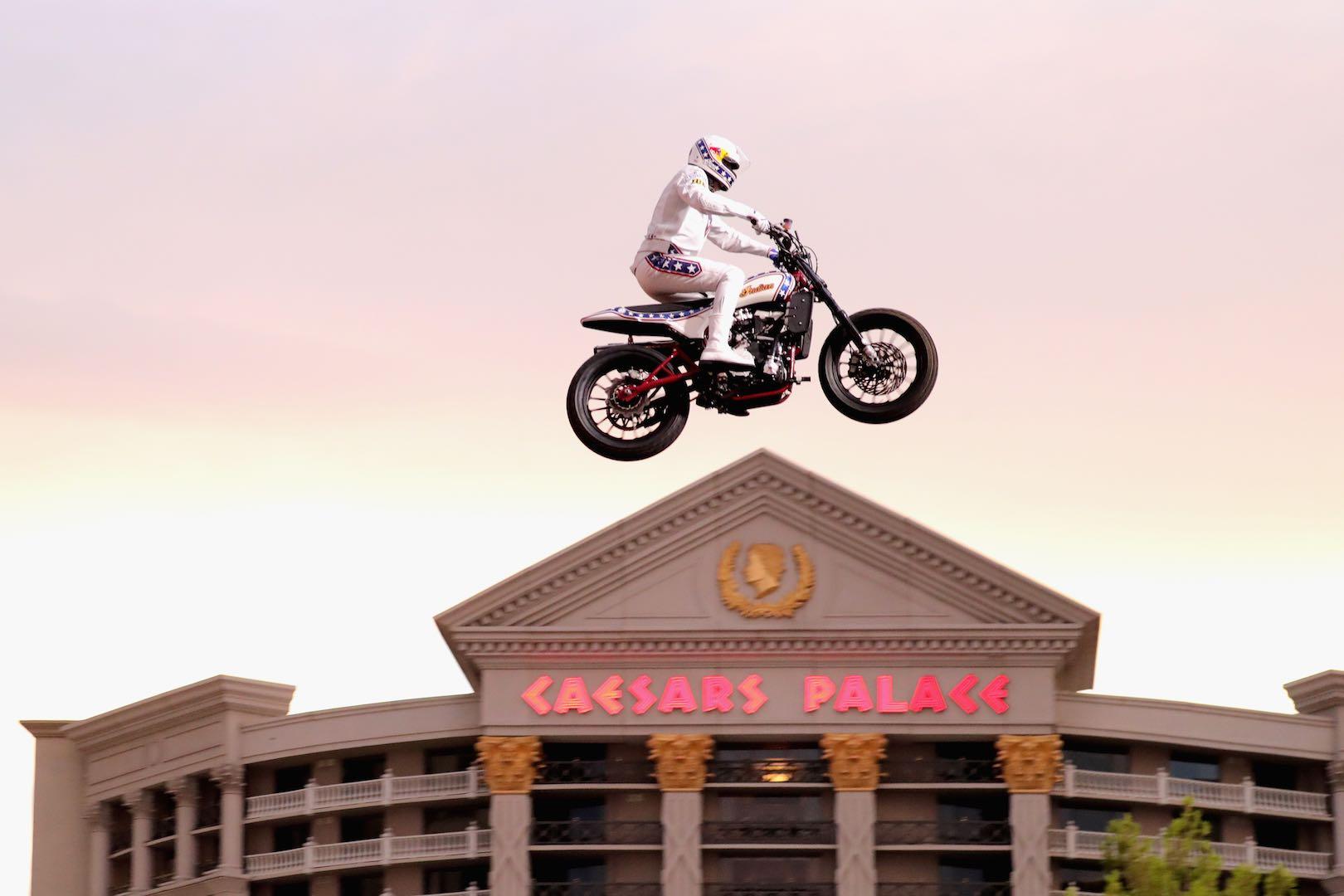 Travis Pastrana Recreates Evel Knievel Jump (Not 1, but 3): Videos + Photos