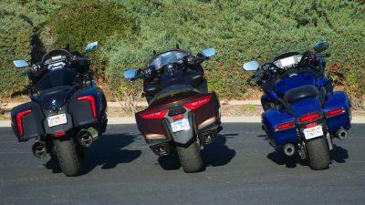 BMW K 1600 B vs Honda Gold Wing vs Star Eluder