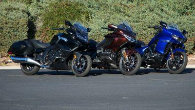 BMW K 1600 B vs Honda Gold Wing vs Star Eluder prices