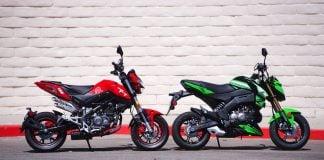 2018 Benelli TNT 135 vs 2018 Kawasaki Z125 Pro Comparison