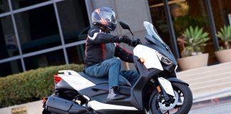 2018 Yamaha XMax top speed