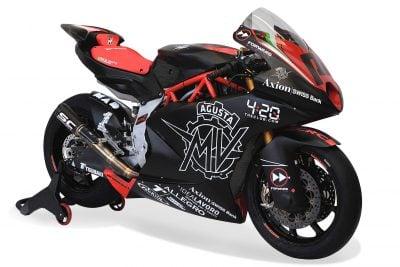 MV Agusta F2 Moto2 engine