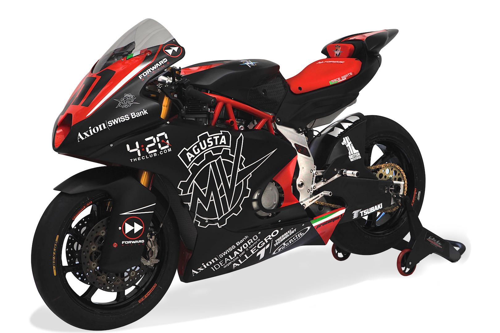 MV Agusta F2 Moto2 horsepower