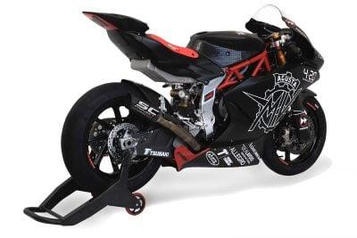 MV Agusta F2 Moto2 exhaust